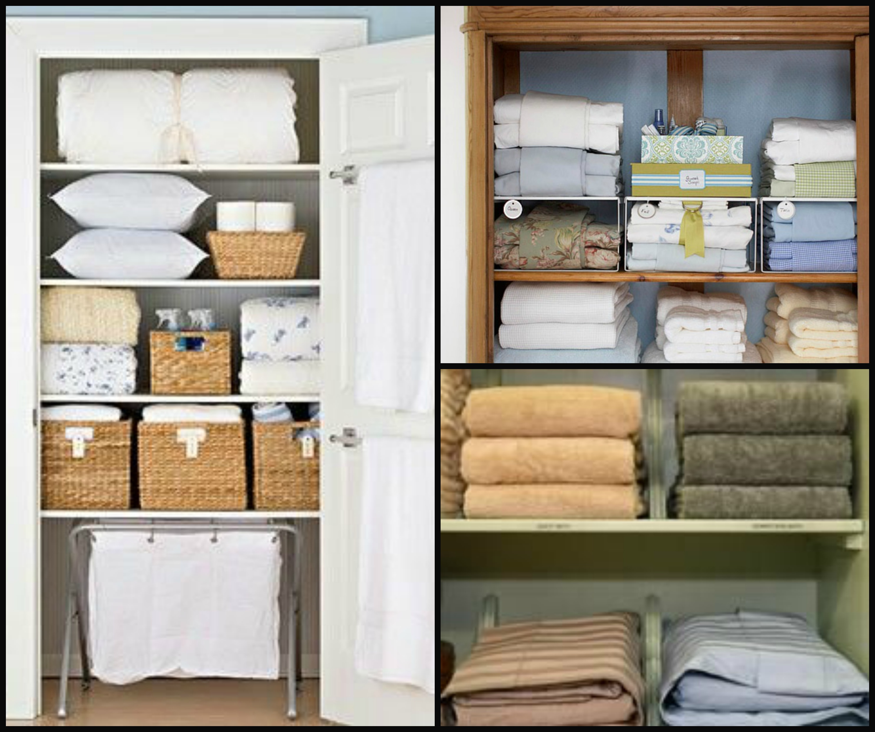 Spring Cleaning Step 1 Clean Out And Organize Your Linen Closet Redinterior
