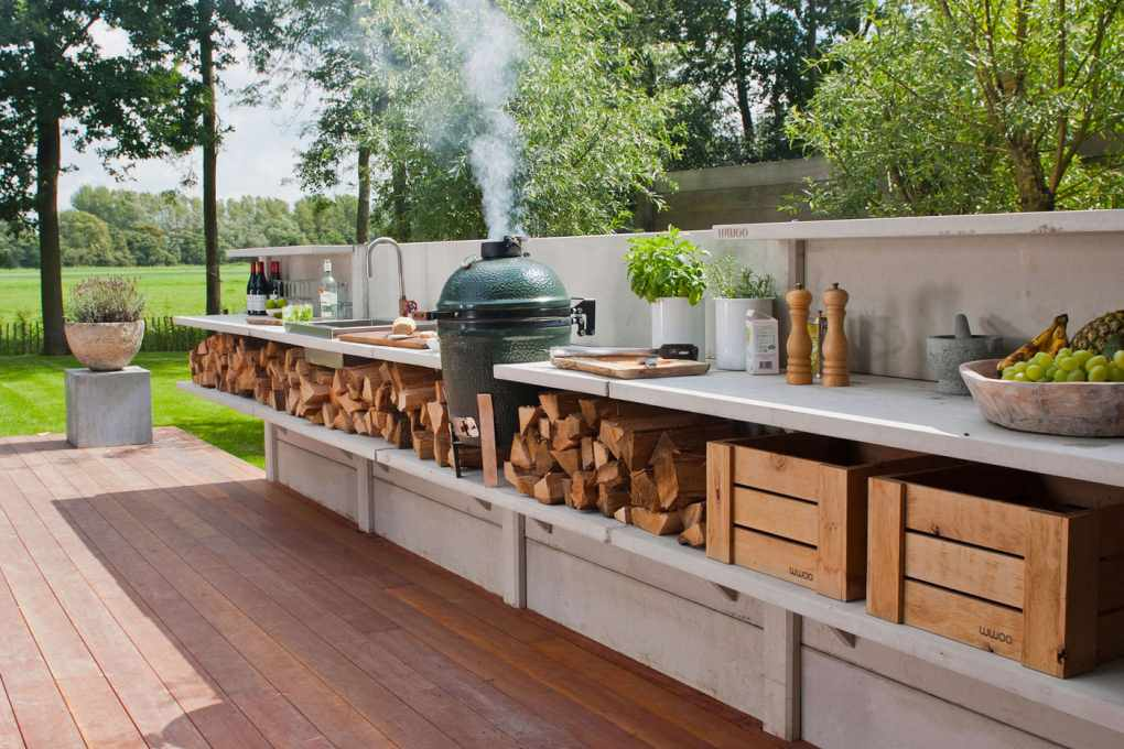 countertop ideas outdoor kitchen diy countertops inexpensive