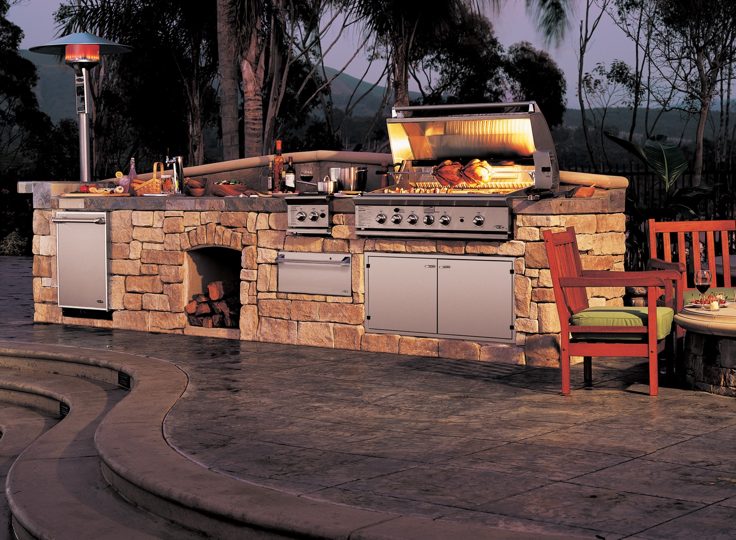 Bringing the Inside Out: Outdoor Kitchen- 6 Week Summer Series ...